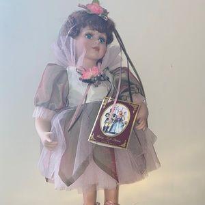 Vintage Gepeddo Porcelain Sugar Plum Fairy Doll